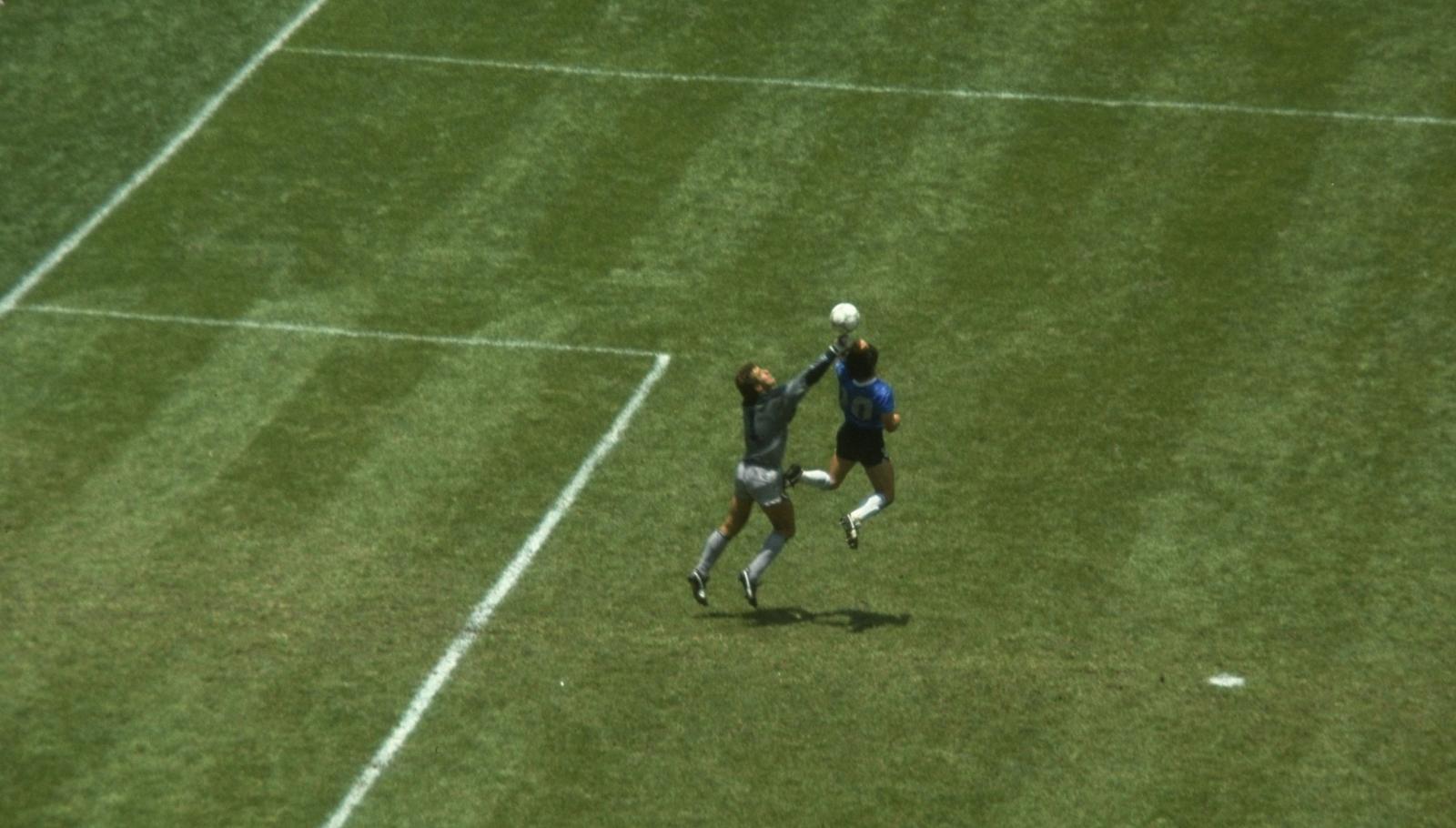 Contre quelle équipe Maradona a-t-il inscrit